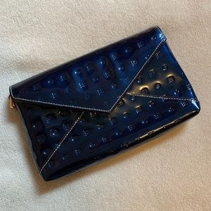 Navy blue Arcadia Wristlet/Clutch